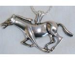 Horse silver pendant thumb155 crop