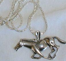 Horse silver pendant 2 thumb200
