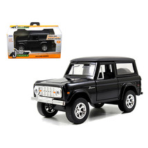 1973 Ford Bronco Black 1/32 Diecast Model Car by Jada 97050 - $15.34