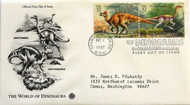 May 1, 1997 First Day of Issue PC Society Cover, Dinosaurs-Ornitho./Corytho.#19 - $3.55