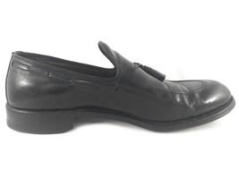 Allen Edmonds Black Saratoga slip on Leather loafers with tassel Size 10C - $34.25
