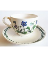 PORTMEIRION BOTANIC GARDEN TRADITIONAL CUP & SAUCER SWEET VIOLET - $24.95