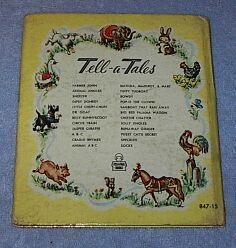 Children's Tell a Tale Book  Hi Cowboy