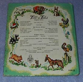 Tell A Tale Book Prayers for Boys and Girls 1957B