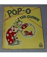Tell A Tale Book Pop-O The Clown - $7.95