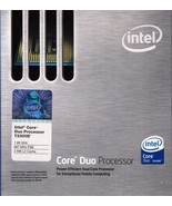INTEL CORE DUO T2300E 1.6GHZ 667FSB 2MB CACHE SOCKET 478 -NICE! - $2.15