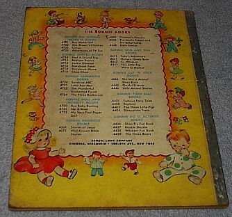 Vintage Bonnie Book The Littlest Elephant