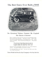 1925 The Best Ever Build Hudson Essex Car vintage print ad - $10.00