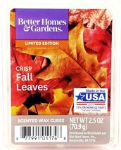 Better Homes & Gardens Crisp Fall Leaves Scented Wax Cubes Melts, 2.5oz. - $13.79