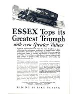 1924 Essex New Super Six Car uphill vintage automobile print - $10.00