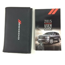 2015 Dodge Durango Owners Manual User Guide Case - $33.14