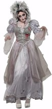 Zombie Never After Princess Ghost Woman Fancy Dress Halloween Adult Costume - $59.99