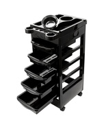 Salon SPA Trolley Storage Cart Coloring Beauty Salon Rollabout Hair Drye... - $42.95