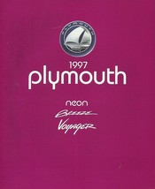 1997 Plymouth FULL LINE sales brochure catalog BREEZE NEON VOYAGER 97 - $6.00