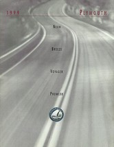 1999 Plymouth FULL LINE brochure catalog 1st Edition PROWLER NEON VOYAGE... - $8.00