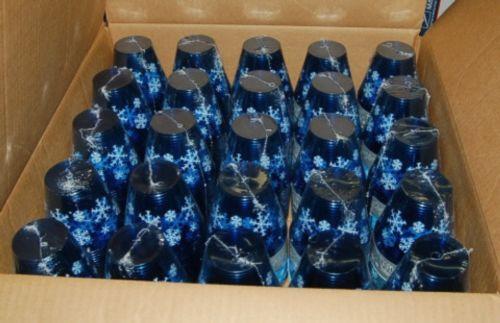 Wholesale Lot 500 Party Accents Winter Wonderland Blue 9 Ounce Tumbler