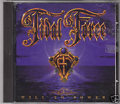 TIDAL FORCE-Will To Power indie Prog. CD