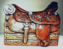 VINTAGE--Napcoware Horse Saddle Planter  - $19.00