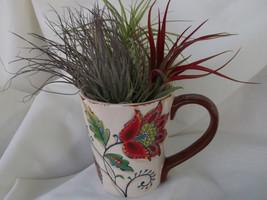 Elizabeth Latte Mug airplant arrangement - $21.50