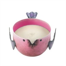 Pink Berry Sorbet Candle In Pink Metal Birdie - $17.04