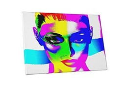 "Pingo World 1218PXVX63Y ""Pop 'Woman's Face'"" Gallery Wrapped Canvas Art, 20"" x 3 - $57.37"