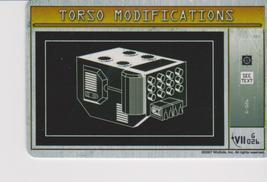 Mechwarrior Torso Modifications Solaris Vii G 026 - $0.35