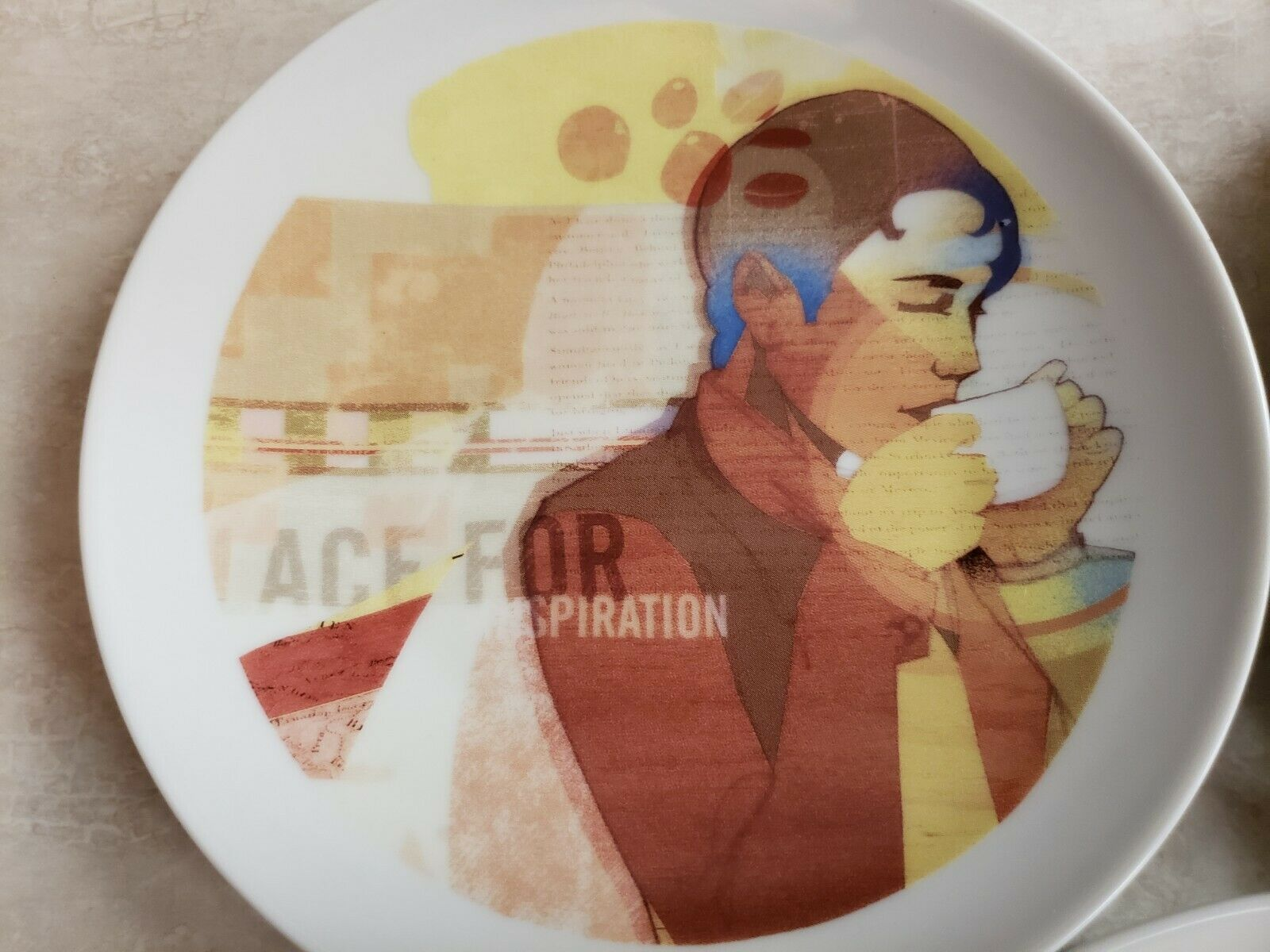 Starbucks 5 Plates North American Stores Leadership Conference 2005 In Box image 5