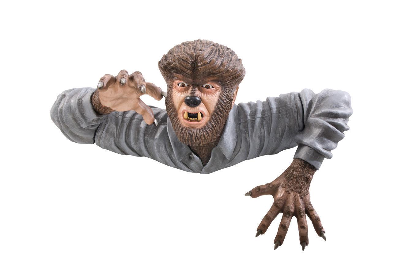 WOLF MAN GRAVE WALKER HALLOWEEN PROP Haunted House Prop - $128.69