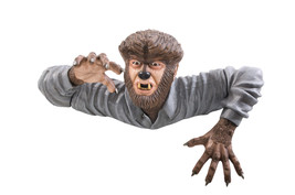WOLF MAN GRAVE WALKER HALLOWEEN PROP Haunted House Prop - €113,86 EUR