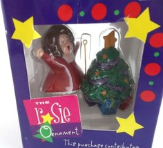 The Rosie Ornament from 1998 The Rosie O'Donnell Show New in Box Christm... - $9.89