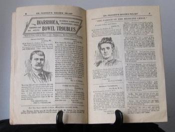 Medicinal  Advertising Ephemera, circa 1906