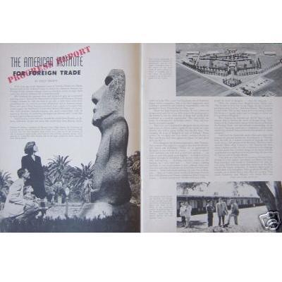 Arizona Highways Antiquarian Collectible July 1954 Magazine