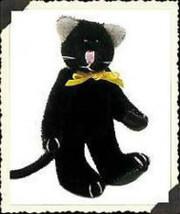 """Boyds Bear """"Thomas F Wuzzie""""  2"""" Plush Wuzzie Cat Pin - #599903-07 -NEW -Retired - $9.99"""