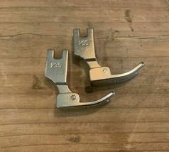 2 PCS P35 Industrial Sewing Machine Hinged Plain Presser Foot High Shank... - $8.50
