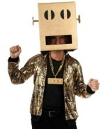 Standard -Rubie's Costume Lmfao Robot Pete Shuffle Bot Party Rock Anthem... - £29.30 GBP
