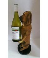 Bombay Company Sir Hawthorne the Hound Dog Butler Wine Bottle Holder Vino - $78.56