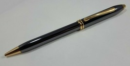 Cross Townsend Grey Lacquer Platinum & 23k Gold Trim Pencil VINTAGE NEW  - $128.70