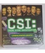 CSI Crime Scene Investigation Puzzle 750 PIECES - $14.01