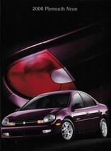 2000 Plymouth NEON sales brochure catalog US 00 LX - $6.00