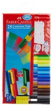 Faber-Castell Wallet of 25 Clip Colours - $12.49
