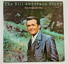 MCA Records THE BILL ANDERSON STORY Greatest Hits 2 Record LP 33  - $12.86