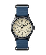 Timex Men's Expedition Scout 40mm Fabric Slip-Thru Strap |Blue| Watch TW... - $55.64