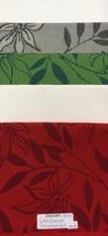 Zweigart Lotus Damask Fabric Embroidery / Needlework Backing RARE White 5 Colors - $16.25