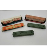 Tyco 4365 The Southern Railroad Flatbed Lot of 5 - $60.73