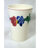 Petrus Regout And Co Masstricht Royal Sphinx Floral 6 oz Tumbler - $6.29
