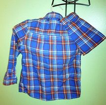 Boys/Toddler Set GAP Relaxed LT Blue Adj. Pants & Cat Jack L/S Button Shirt Blue image 7
