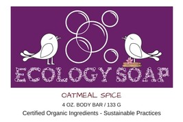 Oatmeal Spice Body Bar Soap - $7.50