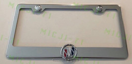3D Buick Stainless Steel License Plate Frame Rust Free W/ Bolt Caps - $22.99