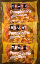 3 Brach's Pumpkin Pie Candy Corn, 8oz Each Best by 07/2020 - $28.05