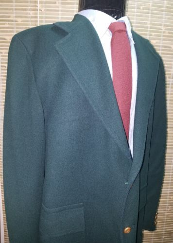 Green Blazer Marshall Field & Company The Store for Men Blazer wool blend-  44R